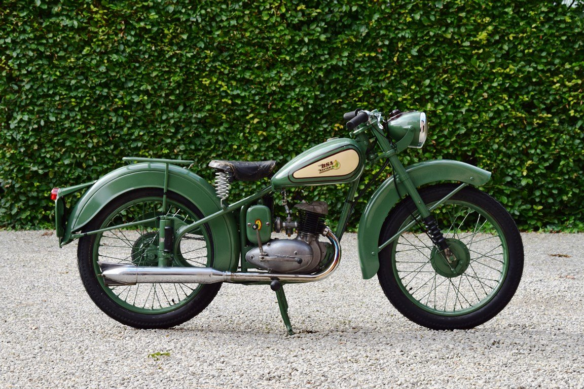 1951 BSA Bantam D1 with Lucas electrics and plunger springs SOLD (picture 4 of 6)
