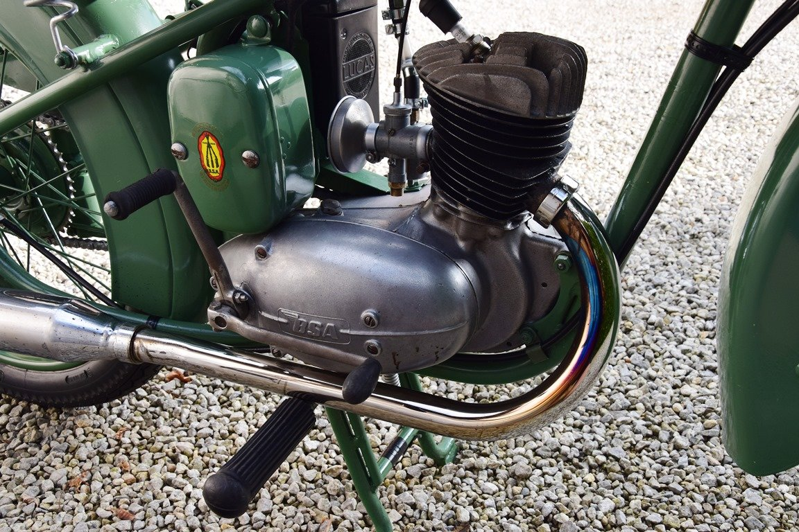 1951 BSA Bantam D1 with Lucas electrics and plunger springs SOLD (picture 5 of 6)
