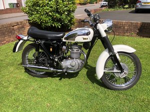 BSA Fleet Star Bantam 250cc