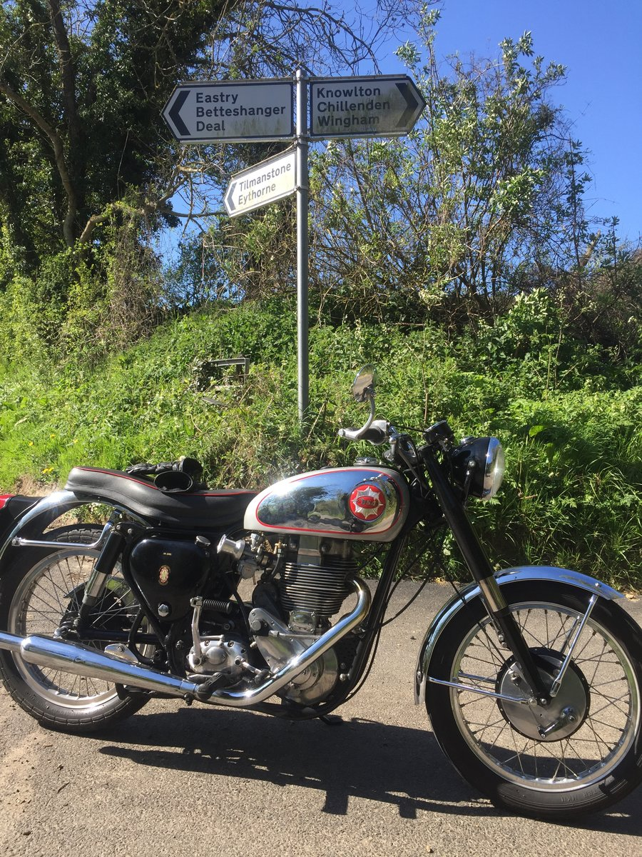 1955 BSA goldstar 350 For Sale (picture 1 of 5)