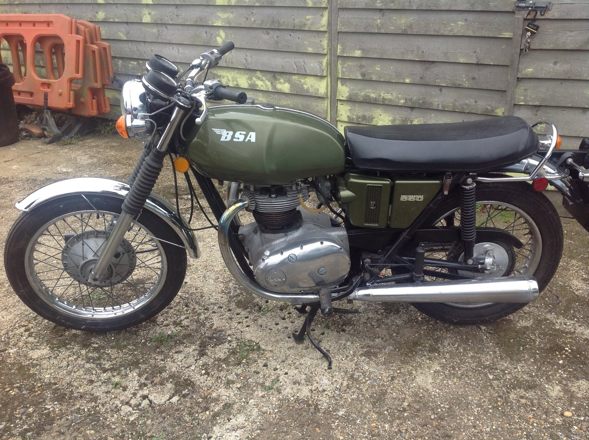 1971 Bsa Thunderbolt For Sale (picture 1 of 6)
