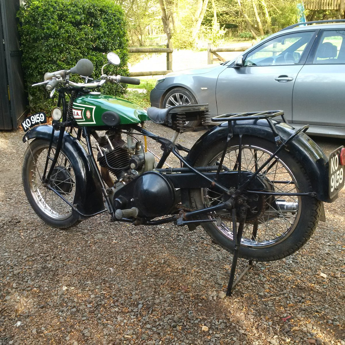 1928 From private classic collection - BSA Sloper For Sale (picture 2 of 3)