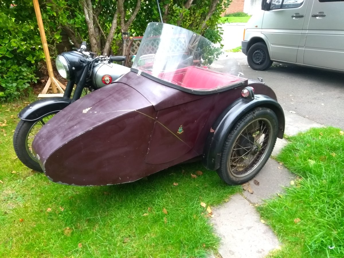 1954 Bsa m21 with sidecar SOLD (picture 4 of 4)