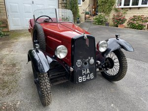 Picture of 1933 BSA Three Wheeler