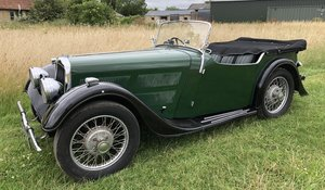 1938 BSA Scout for auction 19th September For Sale by Auction