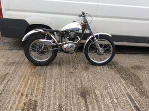 Picture of 1965 Sammy miller otter bsa b40