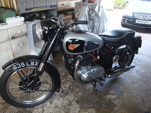 1957 BSA A10 Restoration  now  complete