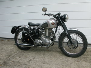 1951 BSA Gold Star ZB32 350cc tidy and on the road
