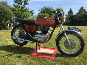 BSA A65 lightening