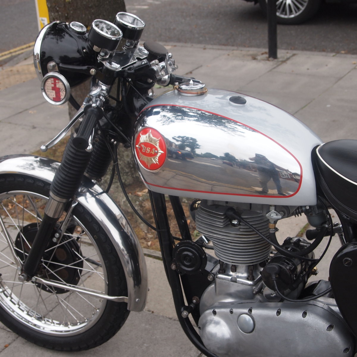1955 BSA Gold Star 350 With Amal And GP Carb, Nice Motorcycle. For Sale (picture 5 of 6)