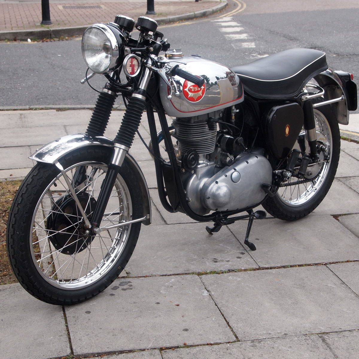 1955 BSA Gold Star 350 With Amal And GP Carb, Nice Motorcycle. For Sale (picture 6 of 6)