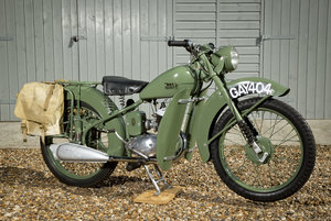 1950 BSA Bantam D1 -glorious little bike