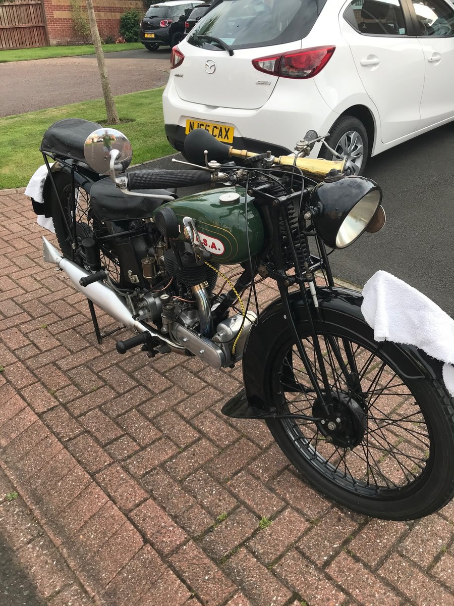1929 Bsa s29 very original 2 owners SOLD (picture 1 of 5)
