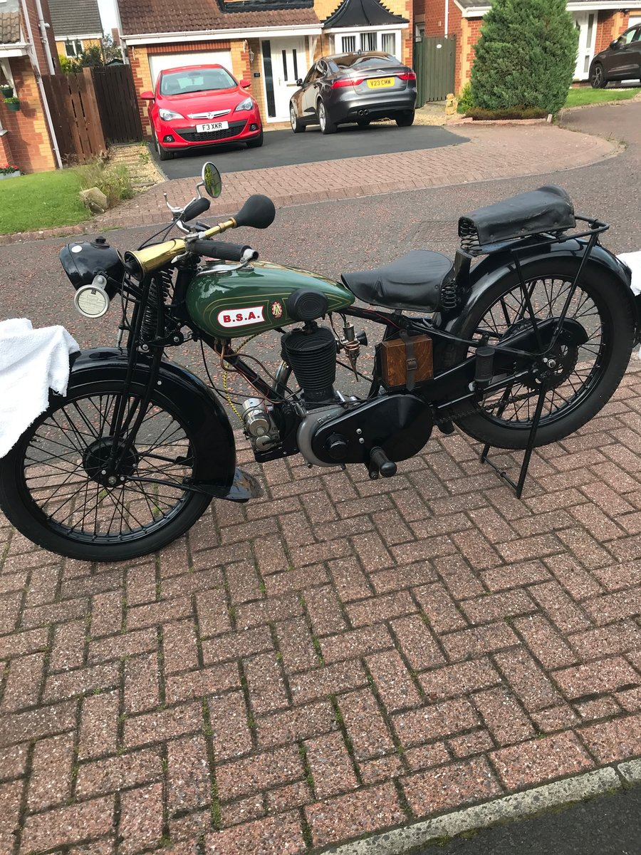 1929 Bsa s29 very original 2 owners SOLD (picture 2 of 5)