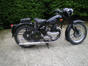 Picture of BSA A7 500cc Plunger Frame Model , 1951