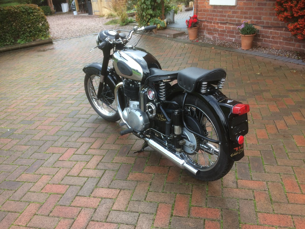 1954 Classic bsa  gold  flash SOLD (picture 5 of 6)