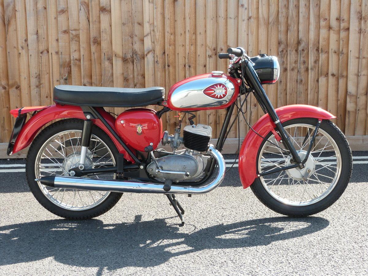 1965 BSA Bantam 175cc D7 SOLD by Auction (picture 1 of 5)