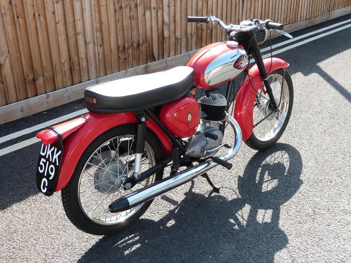 1965 BSA Bantam 175cc D7 SOLD by Auction (picture 3 of 5)