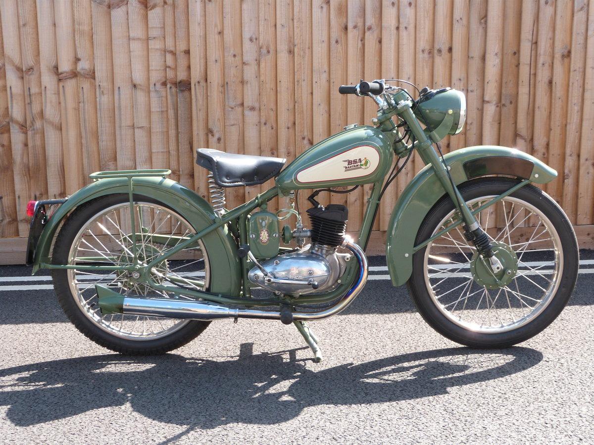 1948 Bantam 125cc D1 Rigid SOLD by Auction (picture 1 of 6)
