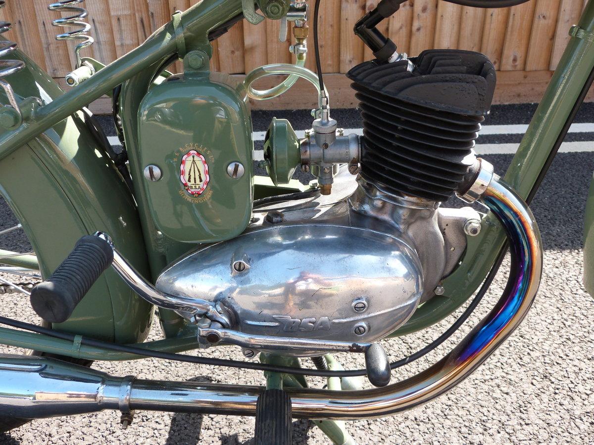 1948 Bantam 125cc D1 Rigid SOLD by Auction (picture 4 of 6)