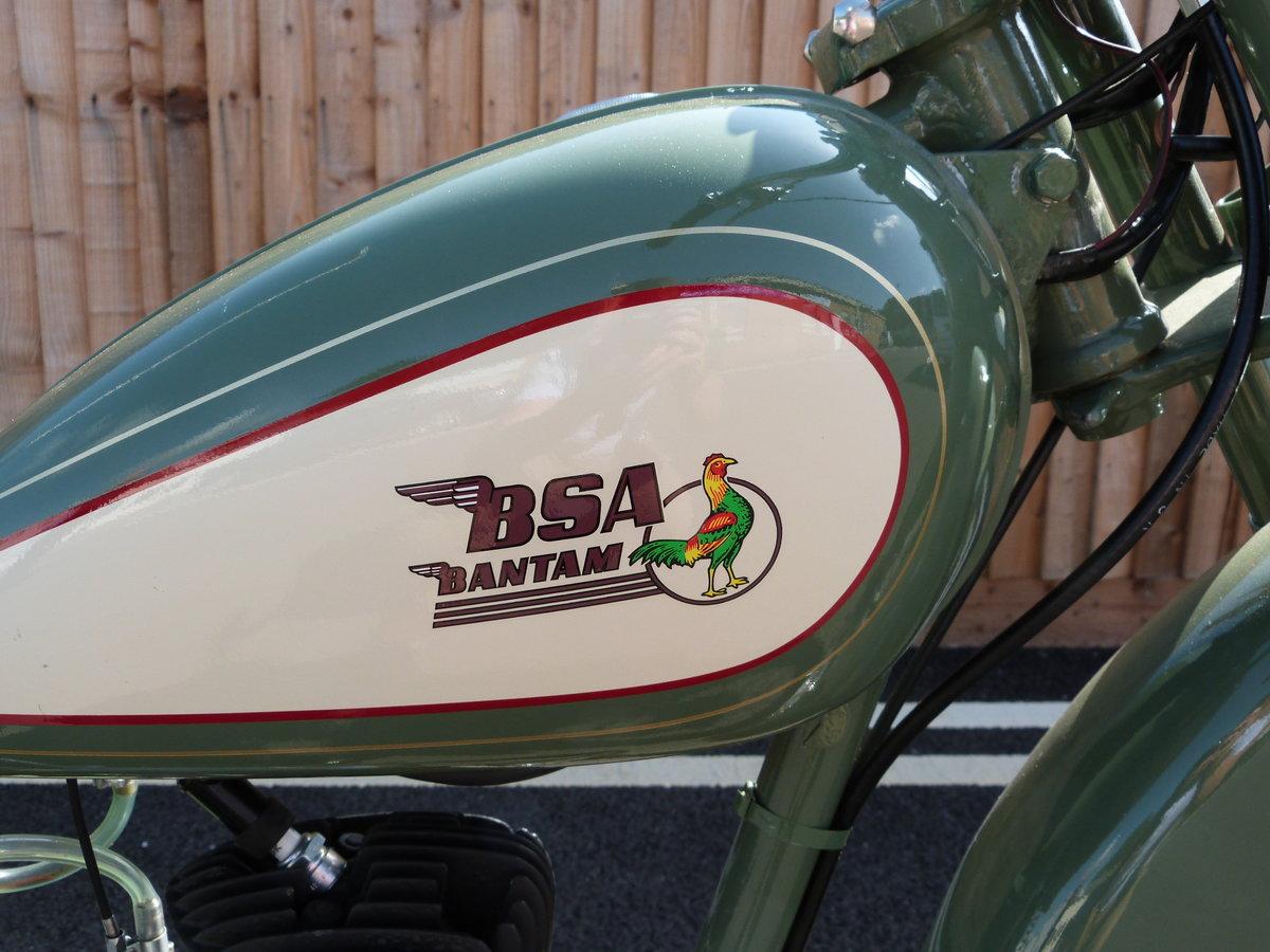 1948 Bantam 125cc D1 Rigid SOLD by Auction (picture 6 of 6)