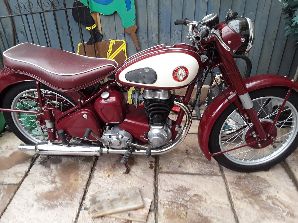 1955 Bsa C11G SOLD (picture 1 of 6)