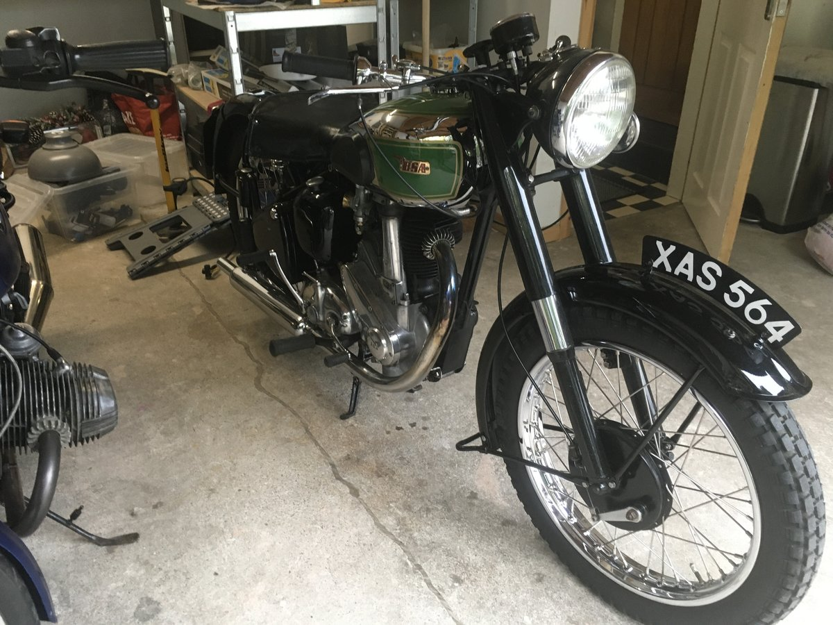 1949 BSA B31  exceptional restoration For Sale (picture 1 of 6)