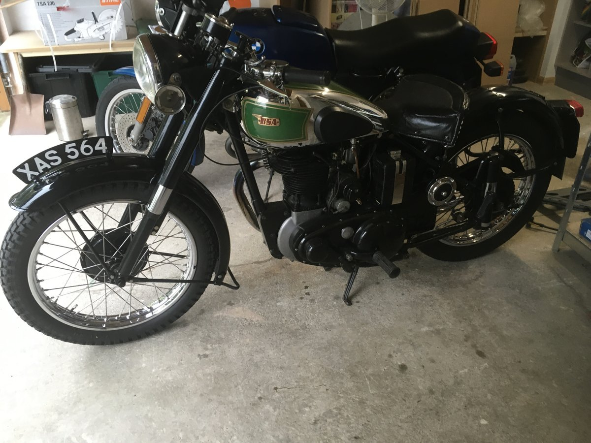 1949 BSA B31  exceptional restoration For Sale (picture 3 of 6)