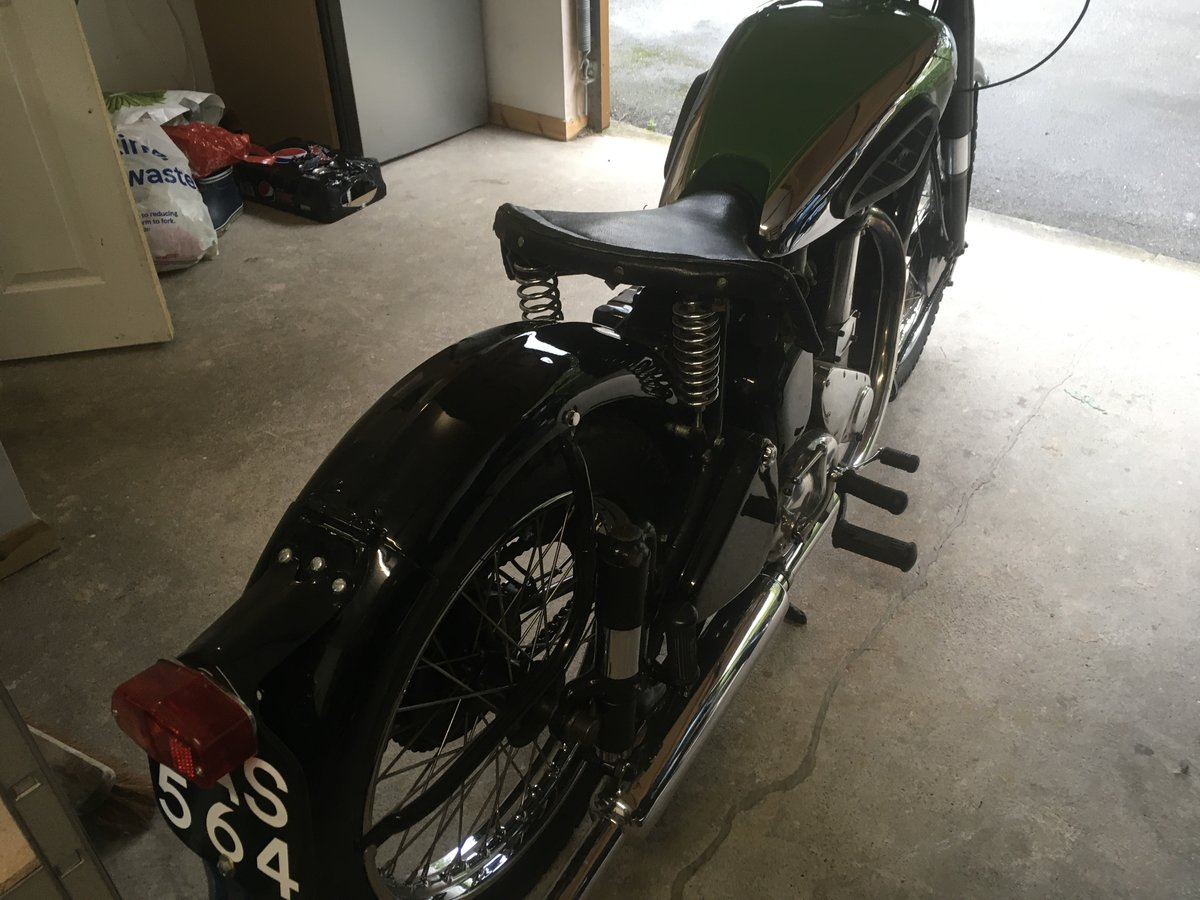 1949 BSA B31  exceptional restoration For Sale (picture 4 of 6)