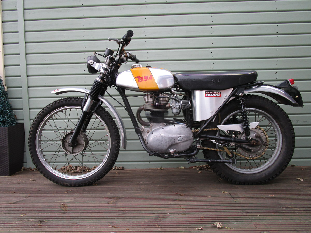 1962 BSA B40 GREEN LANE ROAD REGISTERED 350cc For Sale (picture 1 of 6)