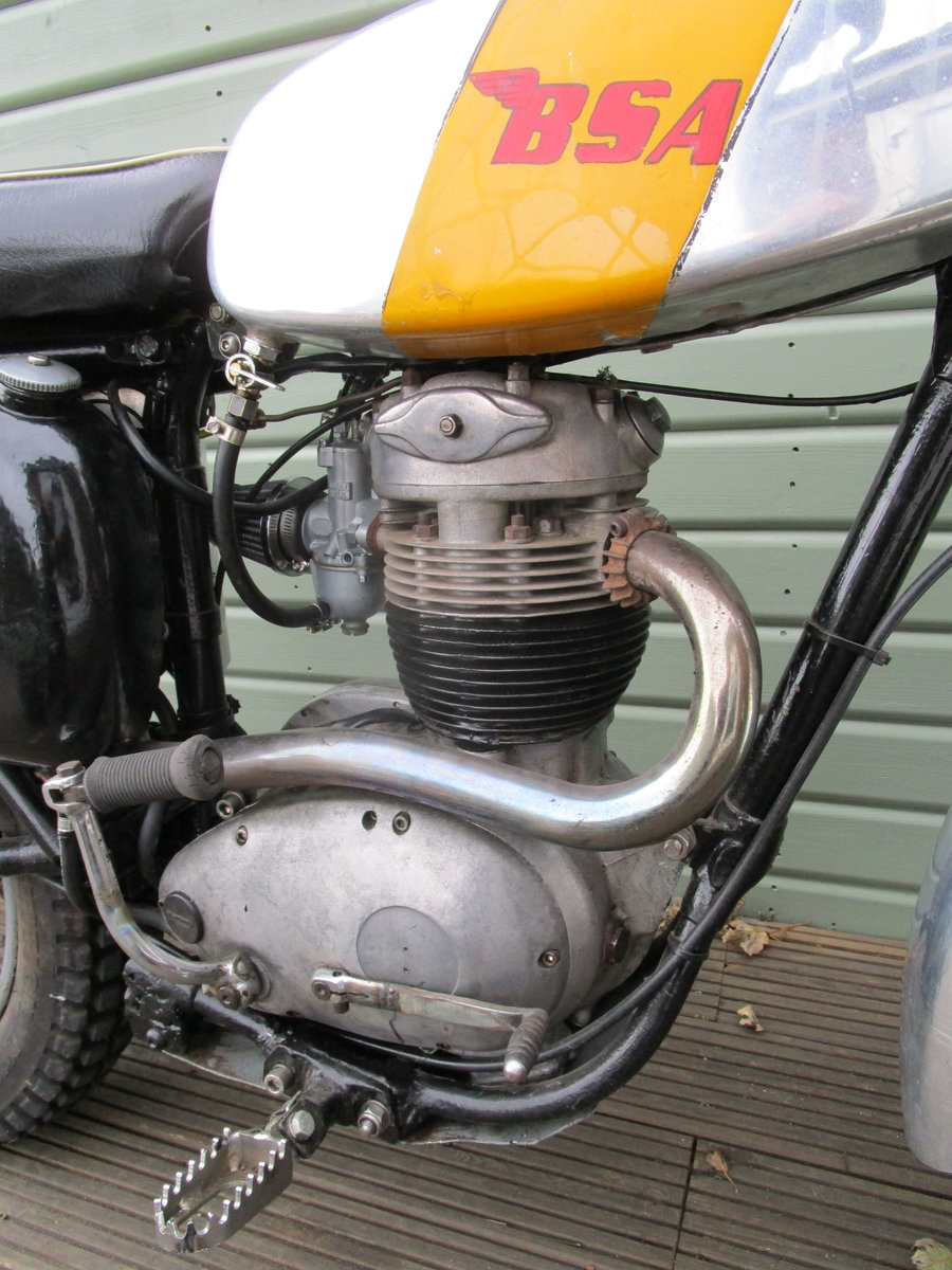 1962 BSA B40 GREEN LANE ROAD REGISTERED 350cc For Sale (picture 3 of 6)