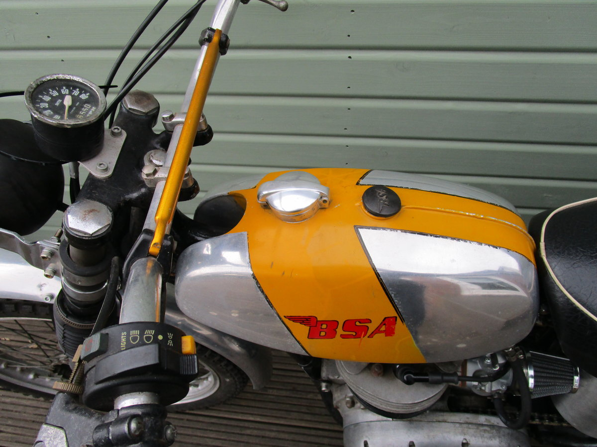 1962 BSA B40 GREEN LANE ROAD REGISTERED 350cc For Sale (picture 4 of 6)
