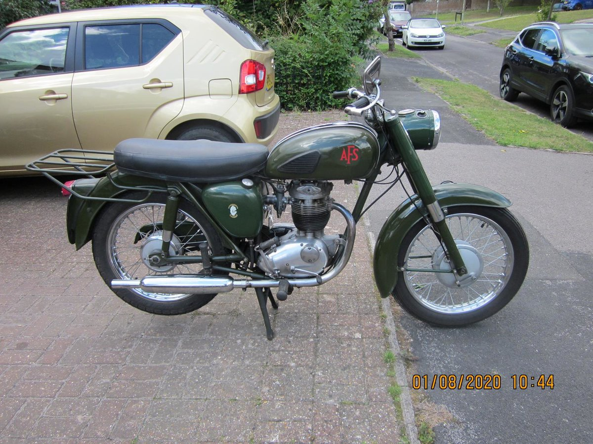Lot 124 - A 1967 BSA B40 AFS - 28/10/2020 SOLD by Auction (picture 1 of 6)