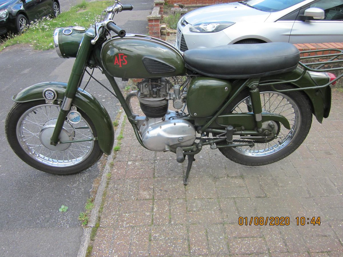 Lot 124 - A 1967 BSA B40 AFS - 28/10/2020 SOLD by Auction (picture 2 of 6)