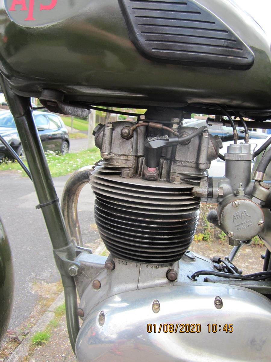 Lot 124 - A 1967 BSA B40 AFS - 28/10/2020 SOLD by Auction (picture 5 of 6)