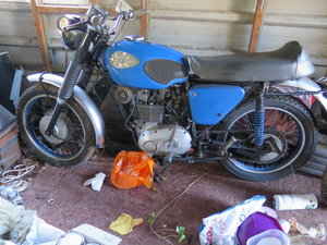 Picture of Lot 161 - A 1970 BSA B25 Starfire - 28/10/2020 SOLD by Auction