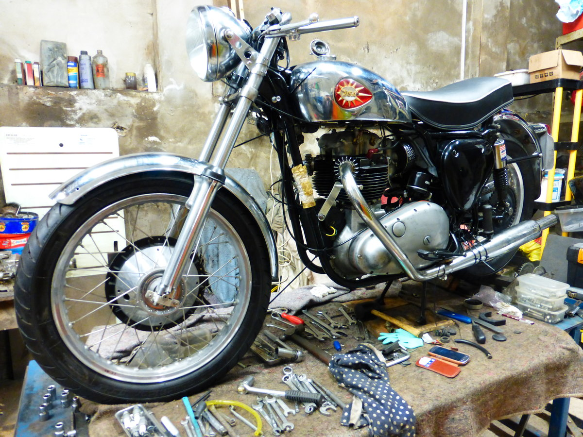 1956 BSA A10 Gold Flash Nut and Bolt Restoration For Sale (picture 1 of 12)