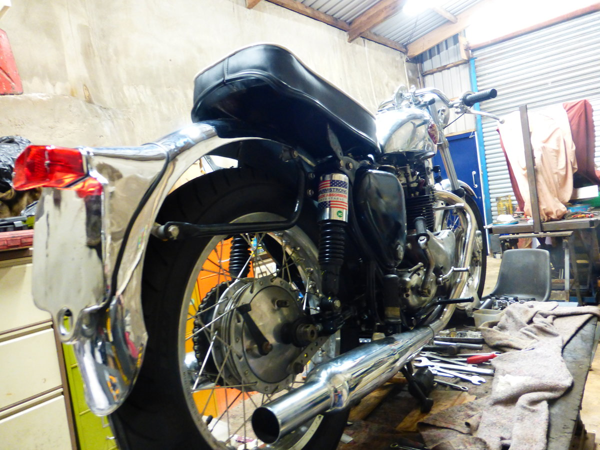 1956 BSA A10 Gold Flash Nut and Bolt Restoration For Sale (picture 3 of 12)