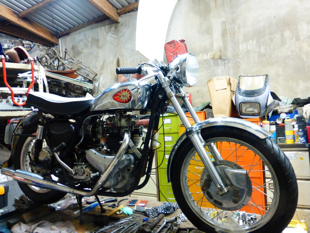 1956 BSA A10 Gold Flash Nut and Bolt Restoration For Sale (picture 4 of 12)