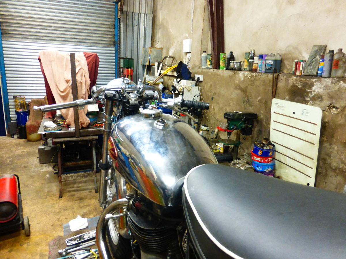 1956 BSA A10 Gold Flash Nut and Bolt Restoration For Sale (picture 5 of 12)