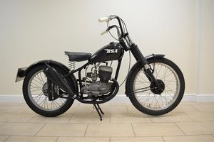 Picture of 1954 BSA Bantam Bobber Trials Bike