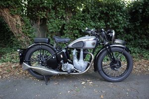 1939 BSA 350 OHV. Matching numbers.