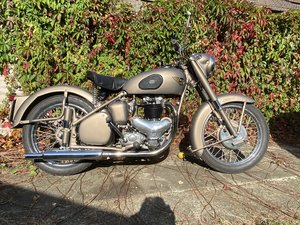 1953 BSA A10 Gold Flash
