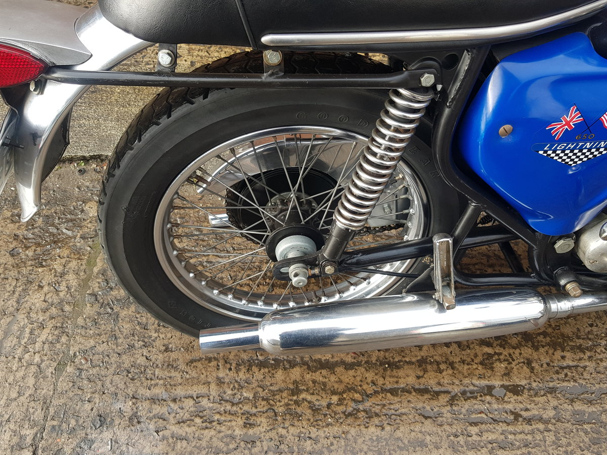 1967 BSA A65 Lightning - SOLD, awaiting collection For Sale (picture 6 of 6)