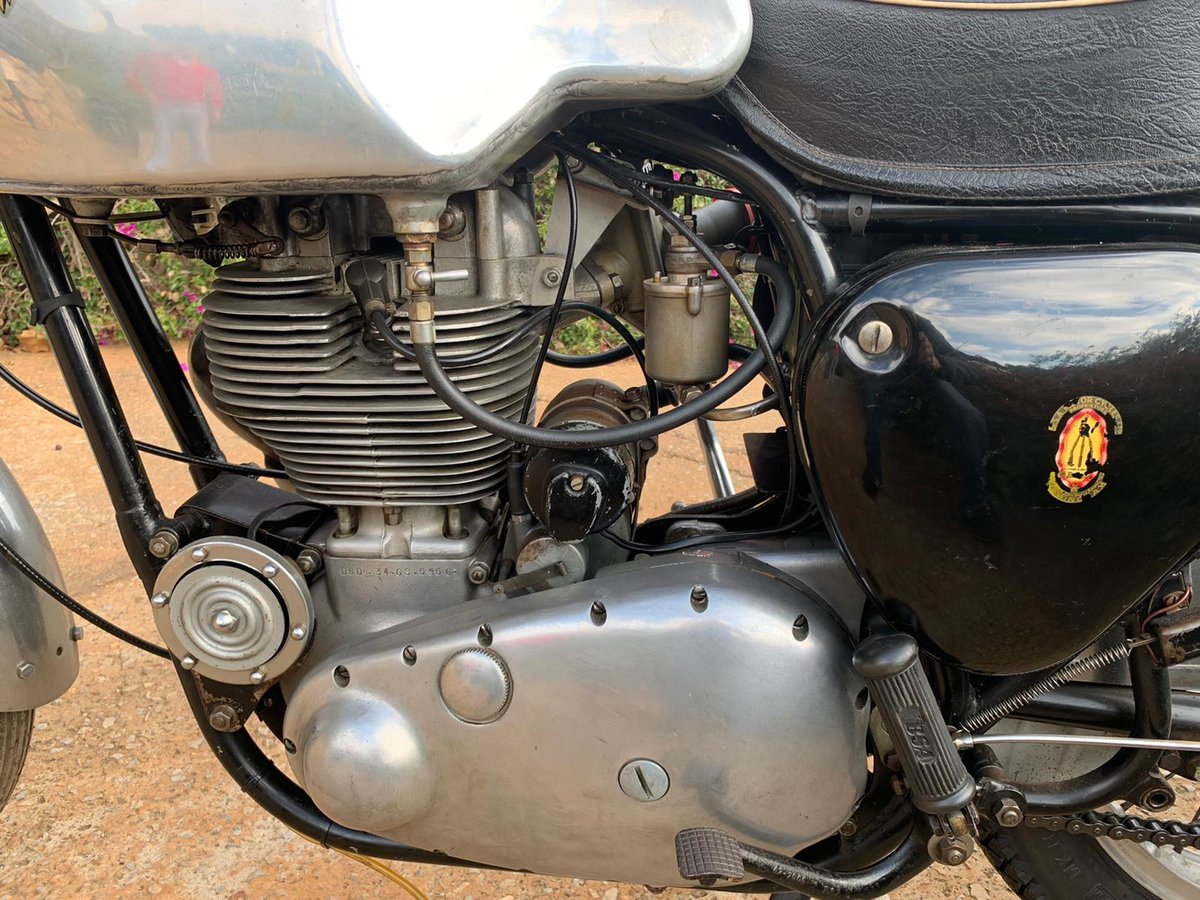 1961 BSA DBD 34 Gold Star 500cc Clubman For Sale (picture 5 of 6)