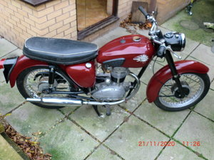 Bsa c15 250cc with tranferable reg number NOW SOLD