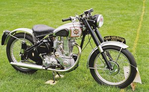 BSA ZB34 500 Gold Star - easy project