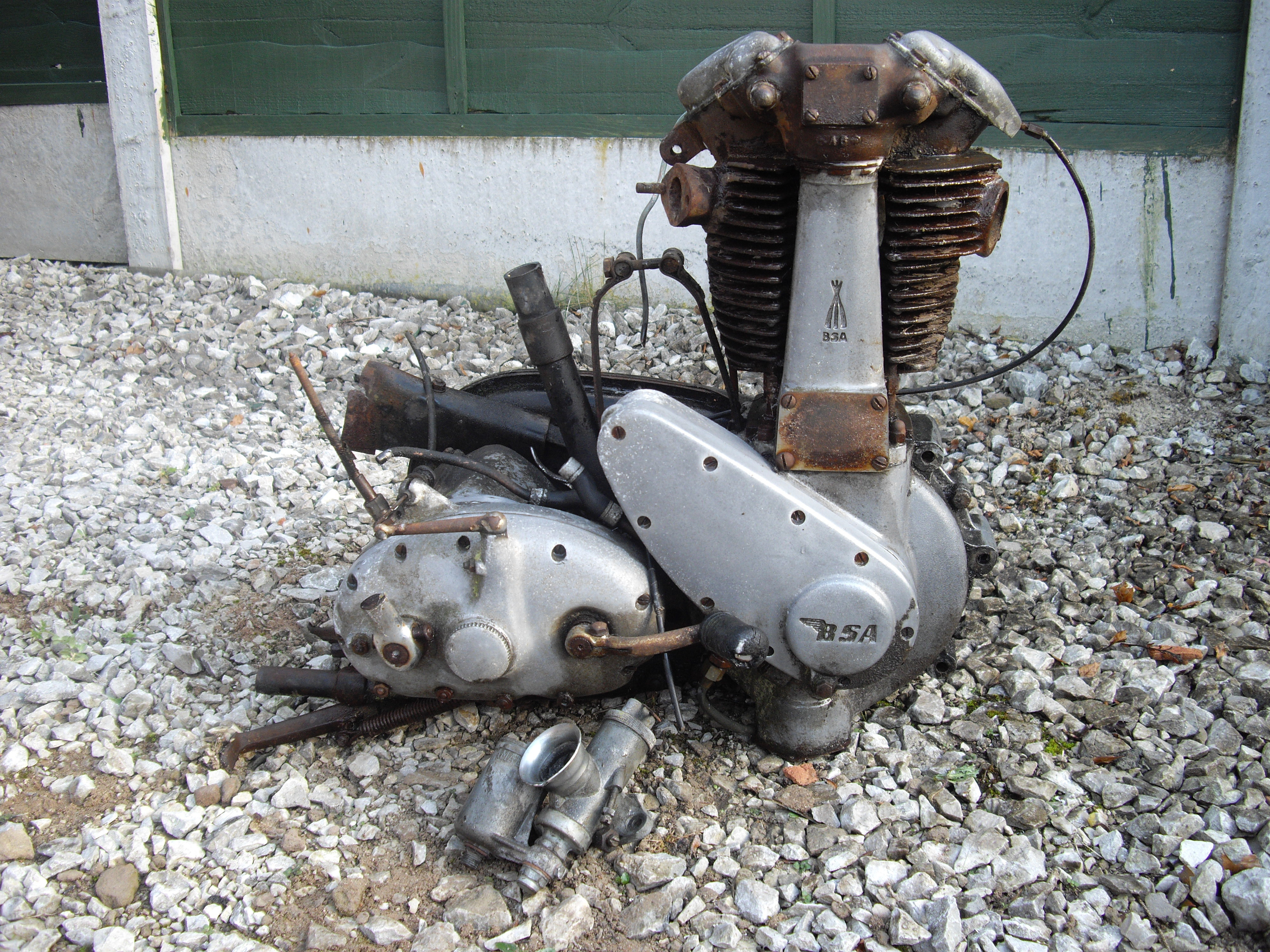 BSA B31 Engine and Gearbox