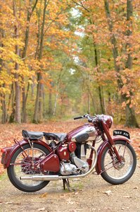 Picture of BSA B33 1954 fully restored matching numbers For Sale