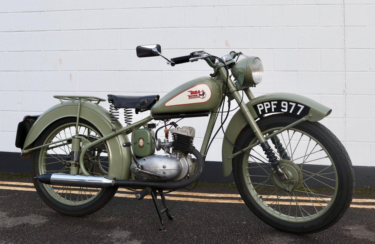 1951 BSA Bantam D1 Plunger 125cc - Excellent For Sale (picture 1 of 11)